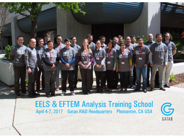 EELS & EFTEM Analysis Training School 2017