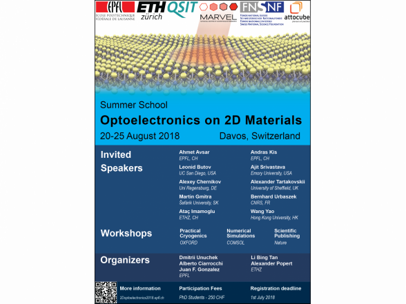 "Summer school ""Optoelectronics on 2D materials"""