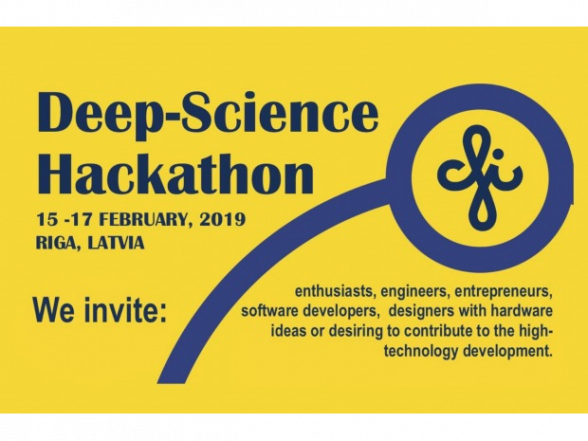 2nd Deep Science Hackathon at ISSP UL